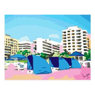SOUTH BEACH, MIAMI, FLORIDA POSTCARD