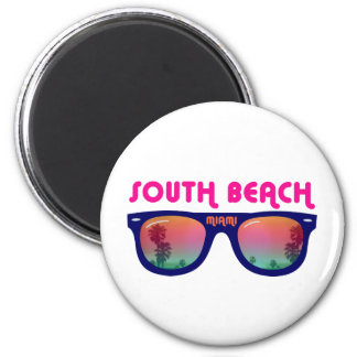 South Beach Miami sunglasses Magnet