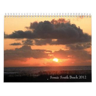 South Beach Scenic 2012 Wall Calendars