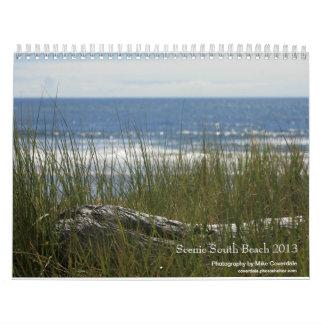South Beach Scenic 2013 Calendar