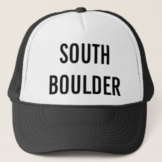 SOUTH BOULDER TRUCKER HAT