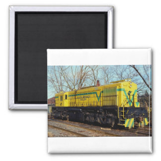 South Branch Valley Railroad Alco MRS-1 No. 28 Rom Fridge Magnets