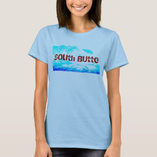 South Butte Blue on Blue Woman's Shirt
