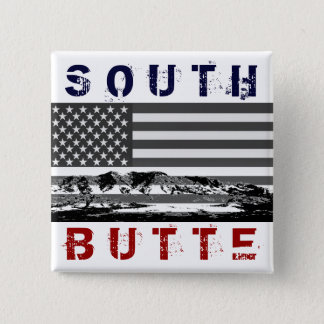"""South Butte """"Stars and Stripes"""" Button"""