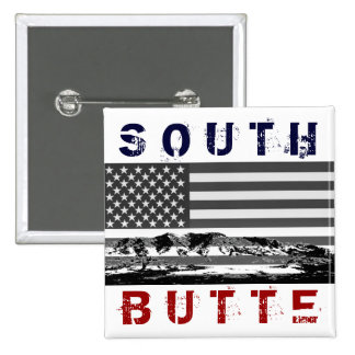 "South Butte ""Stars and Stripes"" Button"