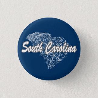 South Carolina 1 Inch Round Button
