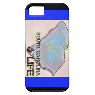 """""""South Carolina 4 Life"""" State Map Pride Design Case For The iPhone 5"""