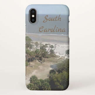 South Carolina Beach iPhone X Case
