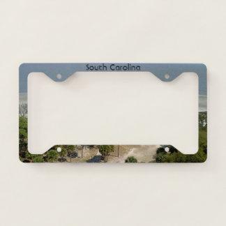 South Carolina Beach License Plate Frame