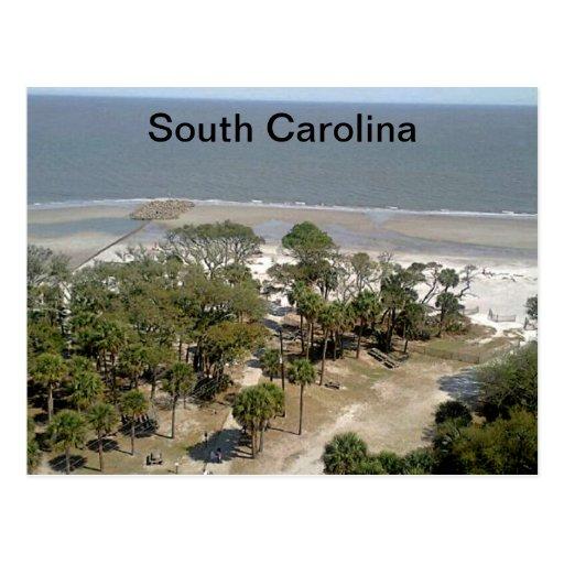 South Carolina Beach Photograph Post Card