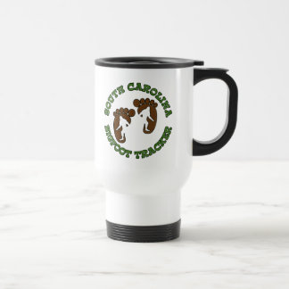 South Carolina Bigfoot Tracker Travel Mug