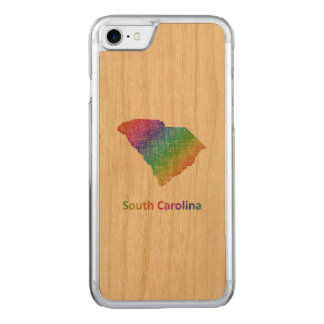 South Carolina Carved iPhone 8/7 Case