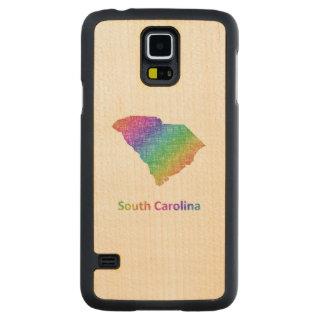 South Carolina Carved Maple Galaxy S5 Case