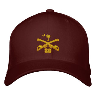 South Carolina Cavalry (Embroidered) Embroidered Baseball Cap