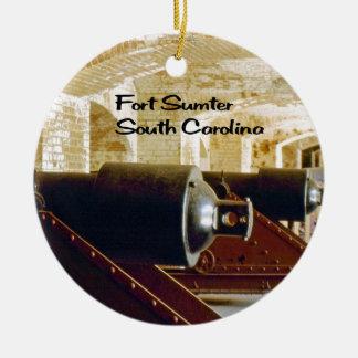 South Carolina Ceramic Ornament