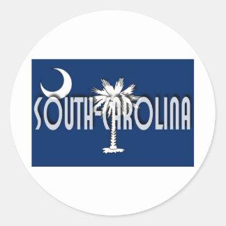South Carolina Classic Round Sticker