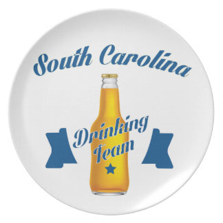 South Carolina Drinking team Plate