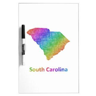 South Carolina Dry Erase Board