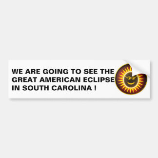 South Carolina Eclipse Bumper Sticker