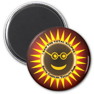 South Carolina Eclipse Magnet