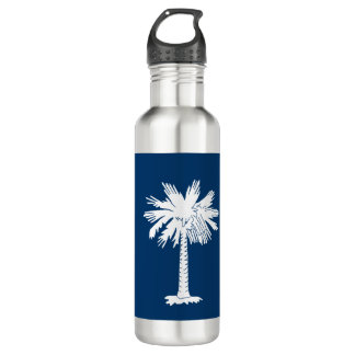 South Carolina Flag 710 Ml Water Bottle