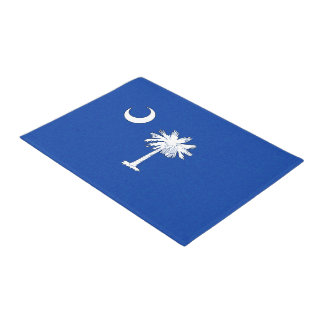 SOUTH CAROLINA FLAG DOORMAT