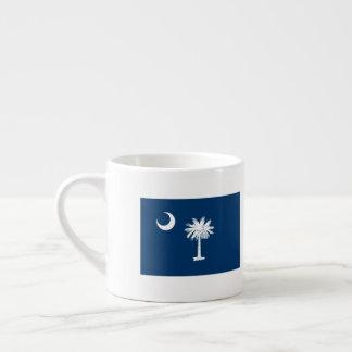 South Carolina Flag Espresso Cup