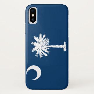 South Carolina Flag iPhone X Case