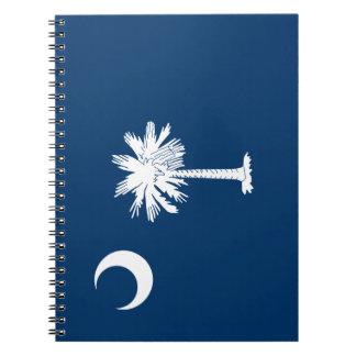 South Carolina Flag Notebook