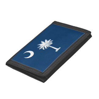 South Carolina Flag Tri-fold Wallet
