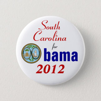 South Carolina for Obama 2012 2 Inch Round Button