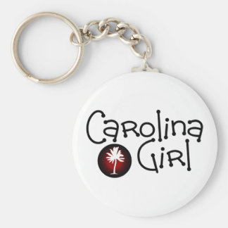 South Carolina Girl Keychain