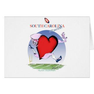 south carolina head heart, tony fernandes card