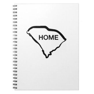 South Carolina is Home Love South Carolina Notebook