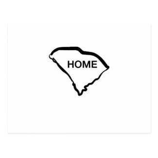 South Carolina is Home Love South Carolina Postcard