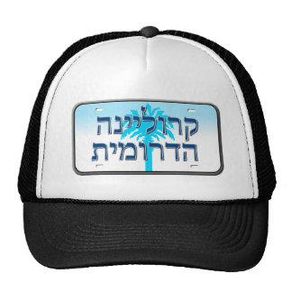 South Carolina License Plate in Hebrew Trucker Hat