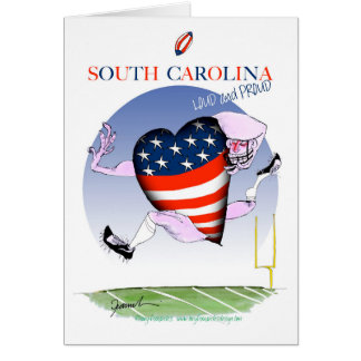 south carolina loud and proud, tony fernandes card