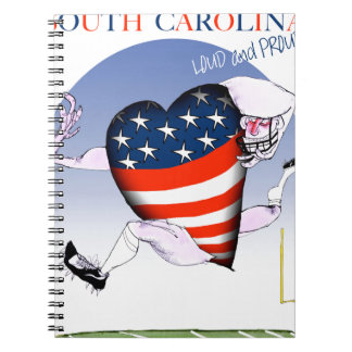 south carolina loud and proud, tony fernandes notebook