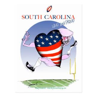 south carolina loud and proud, tony fernandes postcard