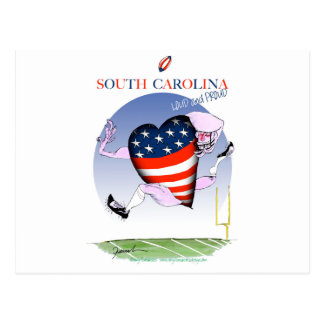 south carolina loud and proud, tony fernandes postcard