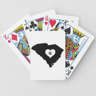 South Carolina Love Bicycle Playing Cards