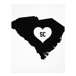 South Carolina Love Letterhead