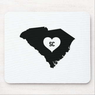 South Carolina Love Mouse Pad
