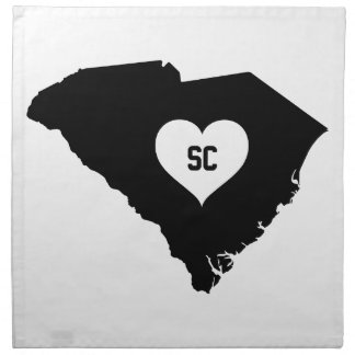 South Carolina Love Napkin