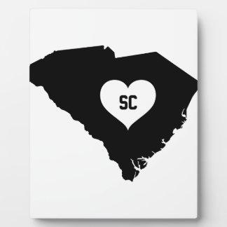 South Carolina Love Plaque