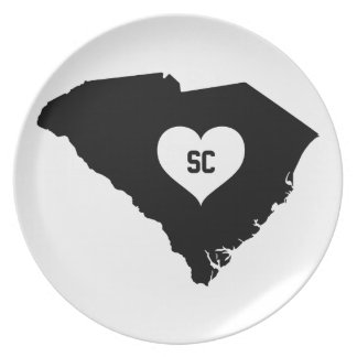 South Carolina Love Plate