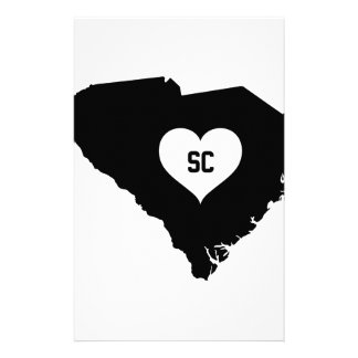 South Carolina Love Stationery