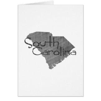 South Carolina Note Card