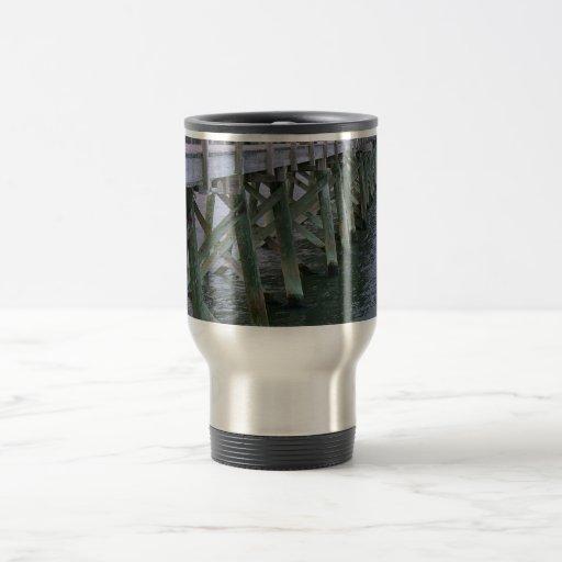 South Carolina Pier Coffee Mugs