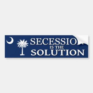 South Carolina Secession Bumper Sticker